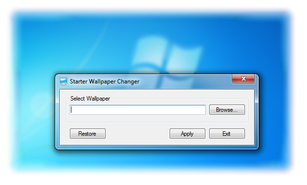 allows you Windows 7 Starter user to change your laptopPC wallpaper 628x379