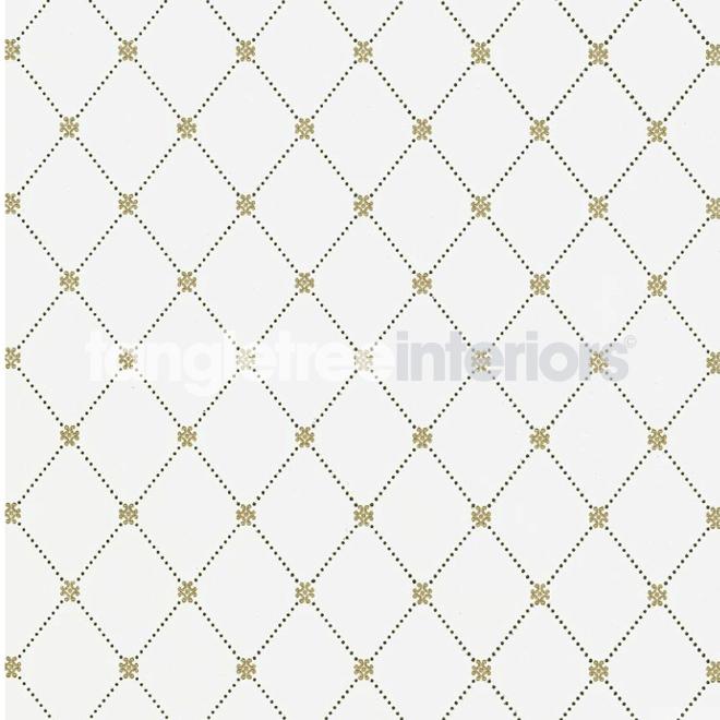 Wilton Trellis wallpaper from Thibaut   T1845   Metallic Gold and Grey 660x660