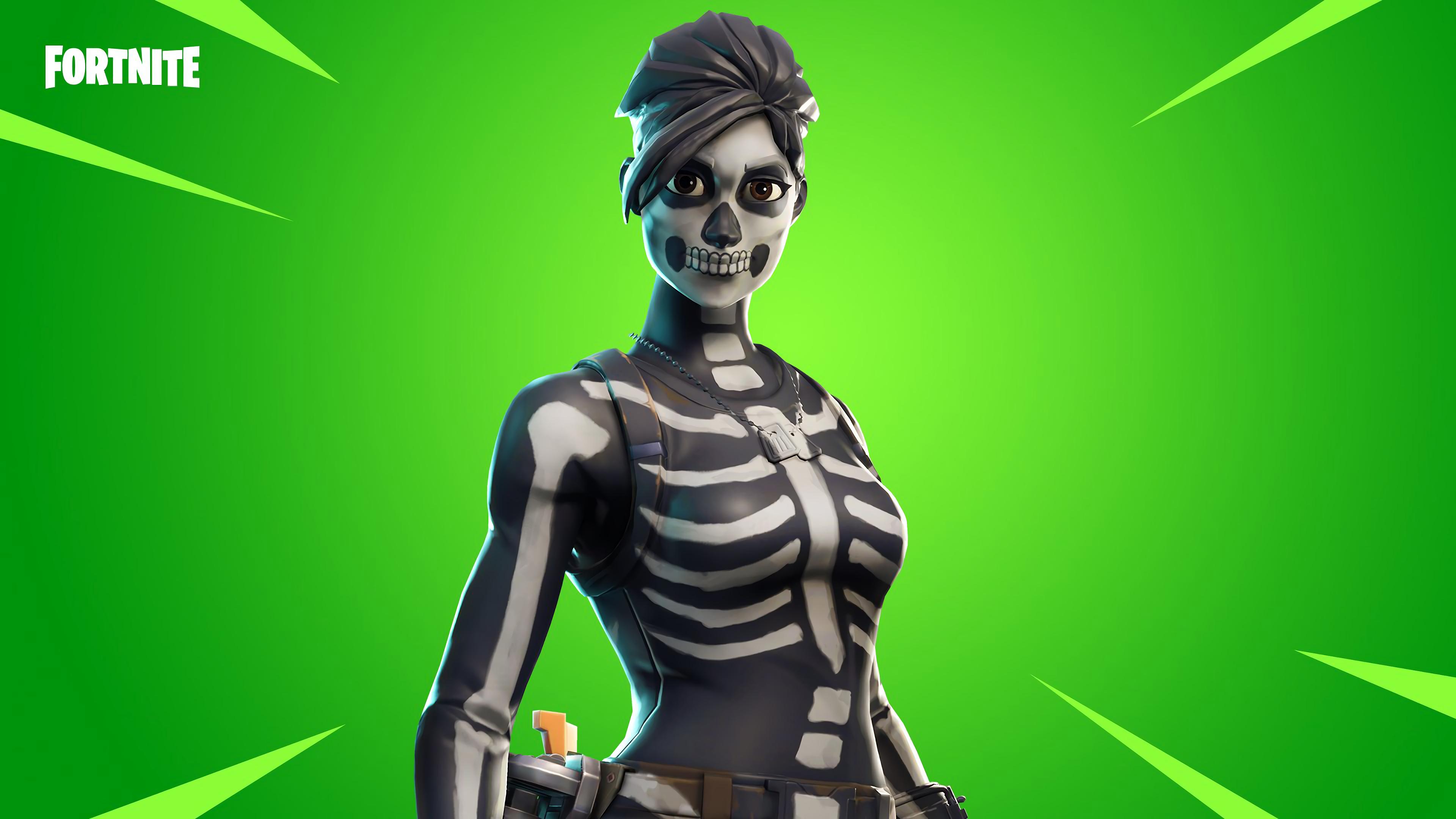 fortnite femake skull ranger outfit 4k 4329 wallpapers and 3840x2160 - star spangled ranger fortnite