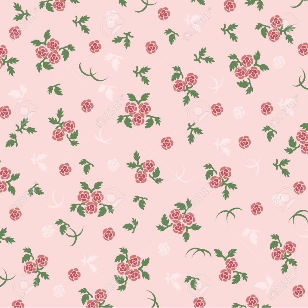 Vintage Pink Rose Wallpaper Wallpapersafari