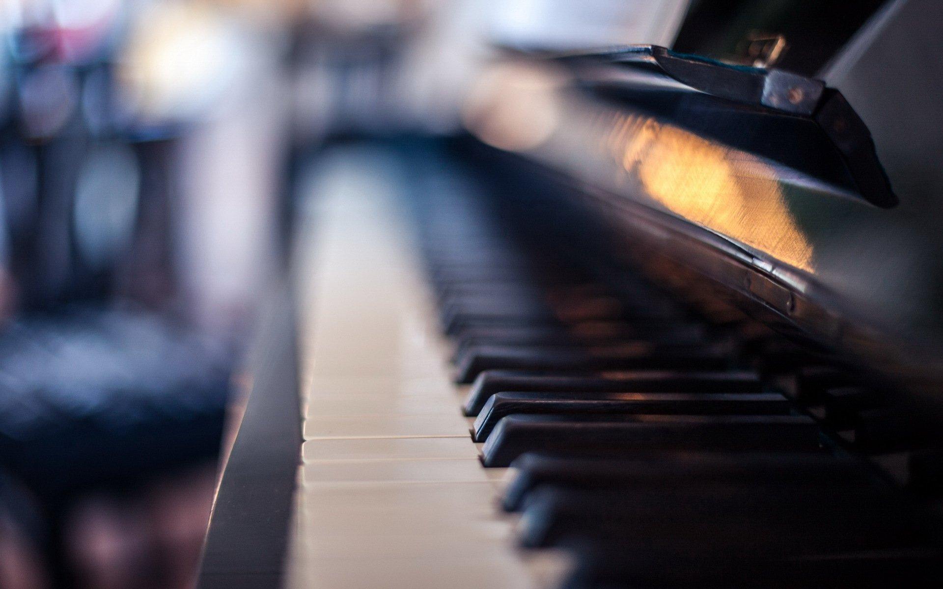 Обои для рабочего стола клавиатура фортепиано
