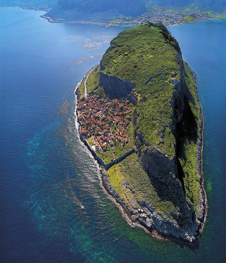 The Hidden Town of Monemvasia Greece Photo One Big Photo 960x1116
