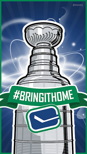 Vancouver Canucks BringItHome iPhone 5 Wallpaper Flickr   Photo 282x500