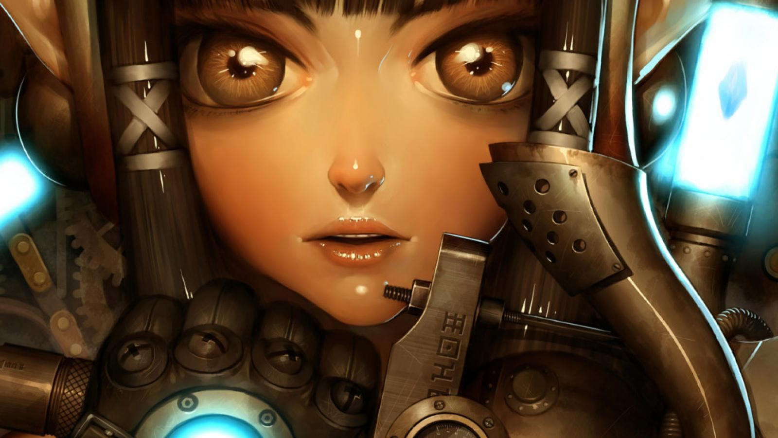 Steampunk girl   152634   High Quality and Resolution Wallpapers on 1600x900
