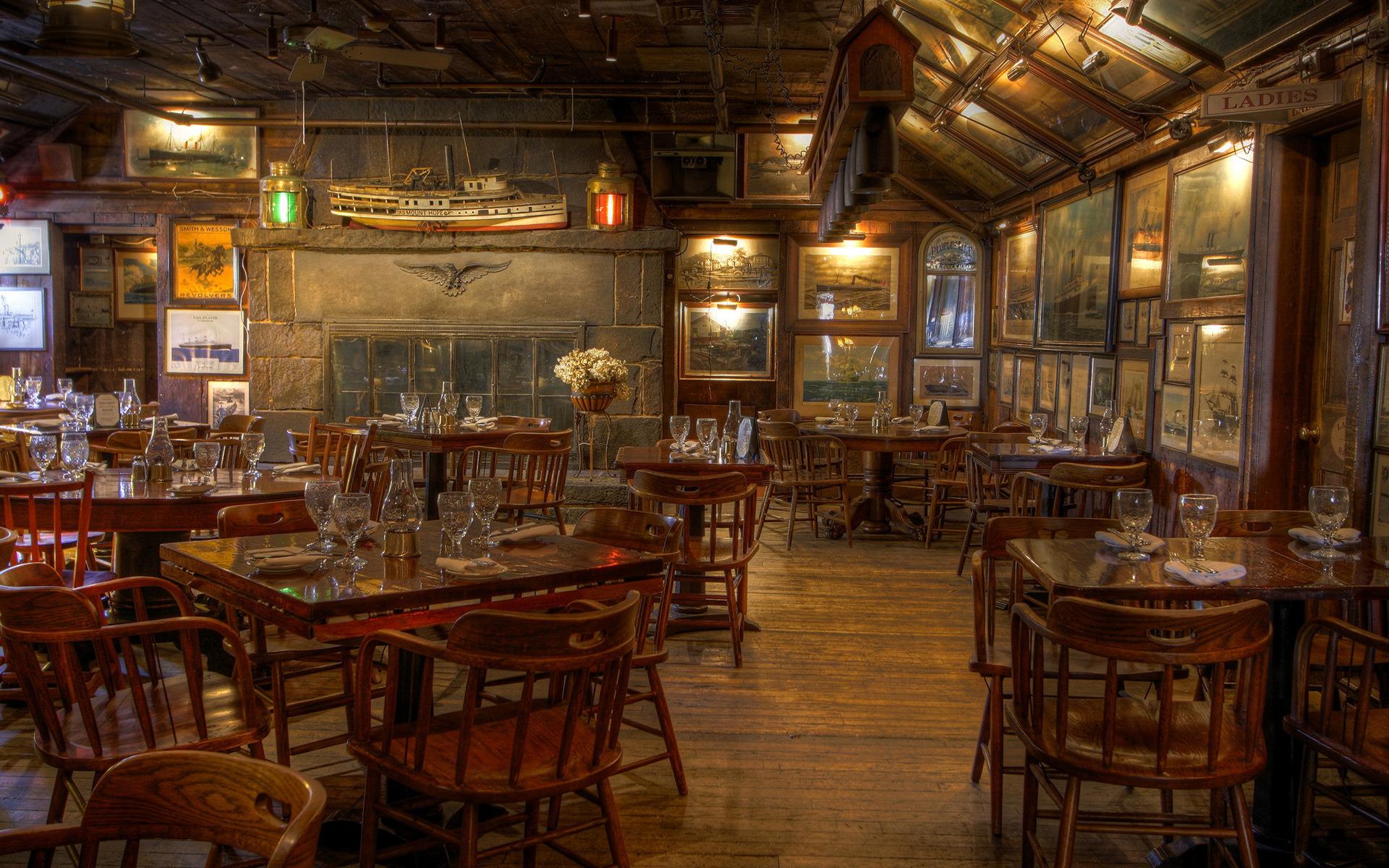 rustic restaurant Wallpaper Background 37291 1920x1200