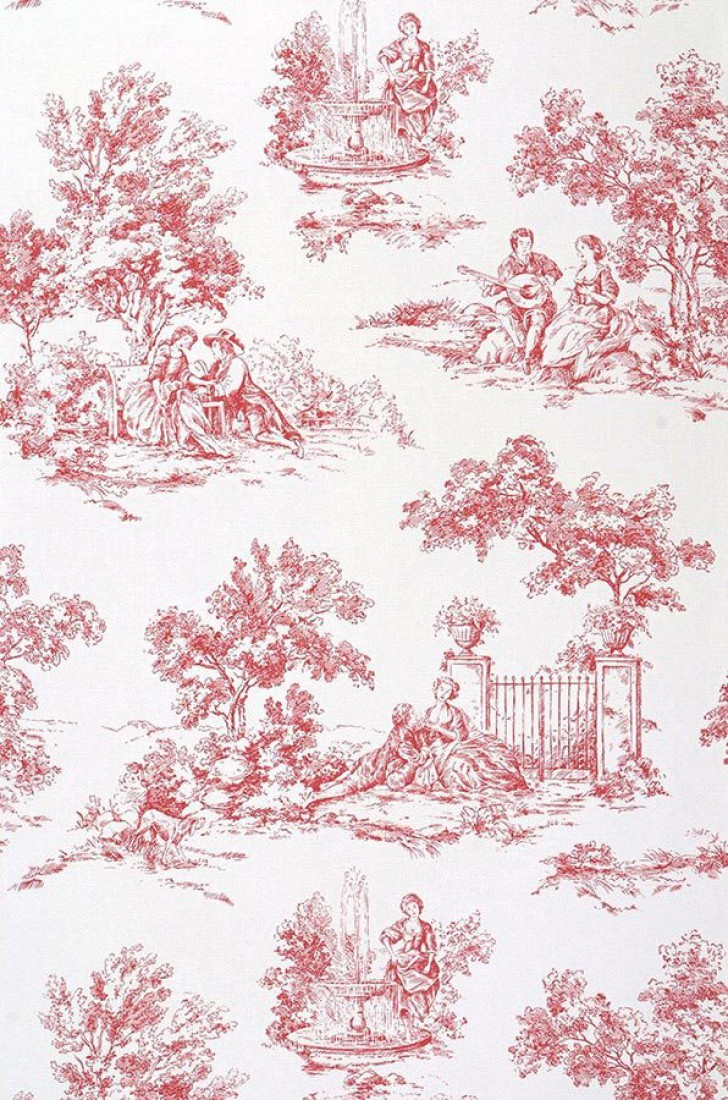 from the 70s Additional Wallpapers All wallpapers Toile de Jouy 728x1100
