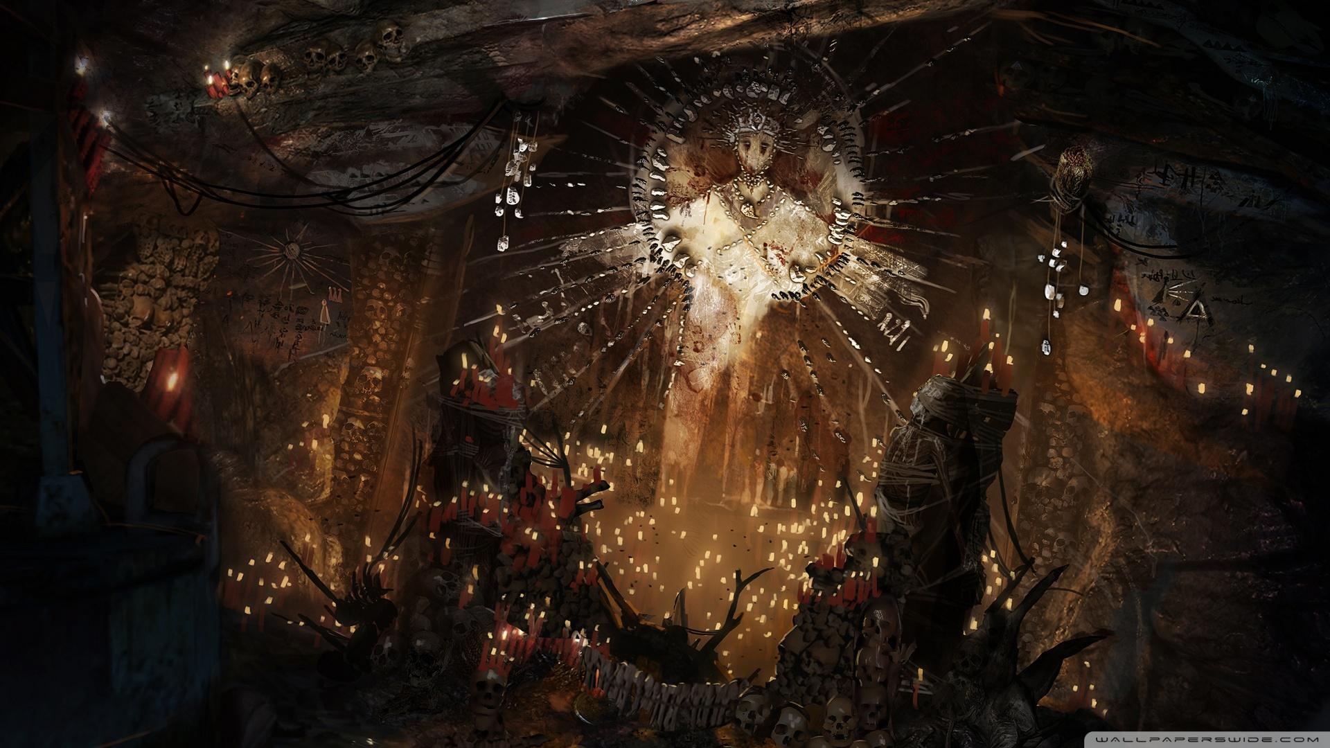 Tomb Raider Sacrifice Altar Wallpaper 1920x1080 Tomb Raider 1920x1080