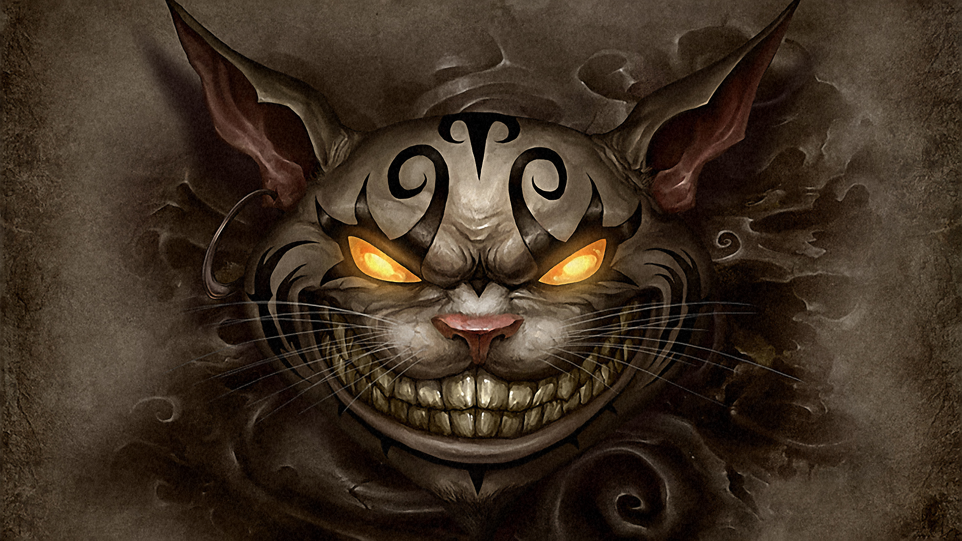cats cheshire cat desktop wallpaper download cats cheshire cat 1920x1080
