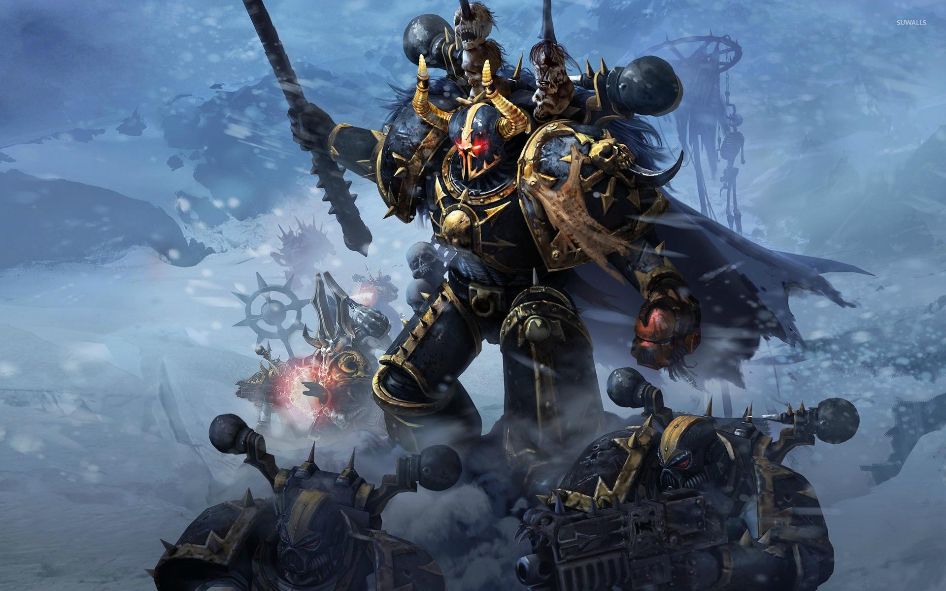 Warhammer 40k Space Marine Wallpaper Warhammer 40000 space marine 1366x768