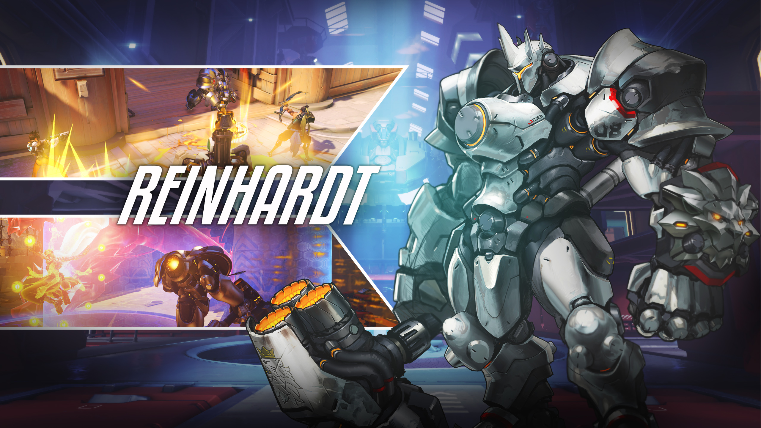 Reinhardt Overwatch Wallpapers HD Wallpapers 2560x1440