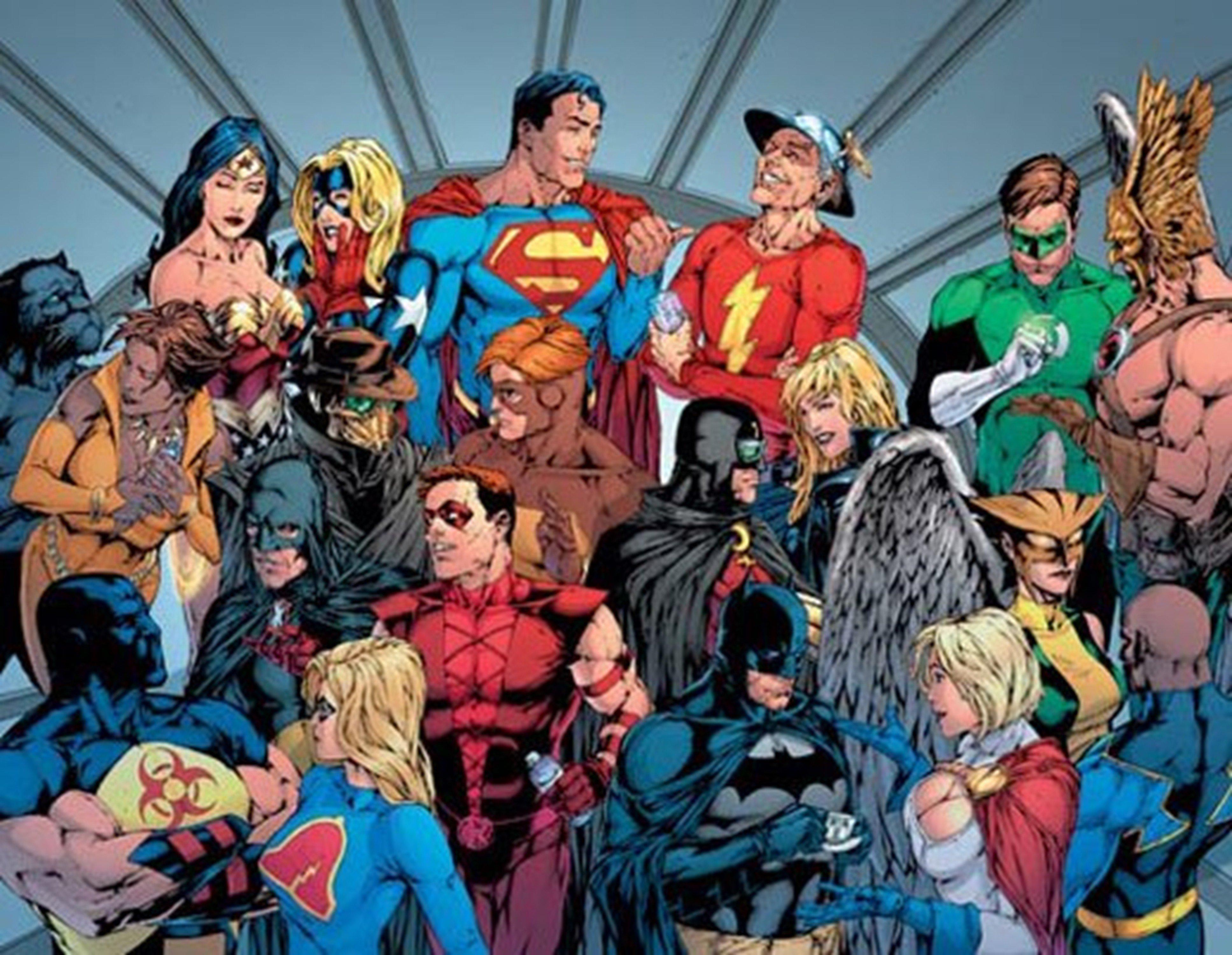 Dc Comics Justice League : Dc justice league wallpaper wallpapersafari
