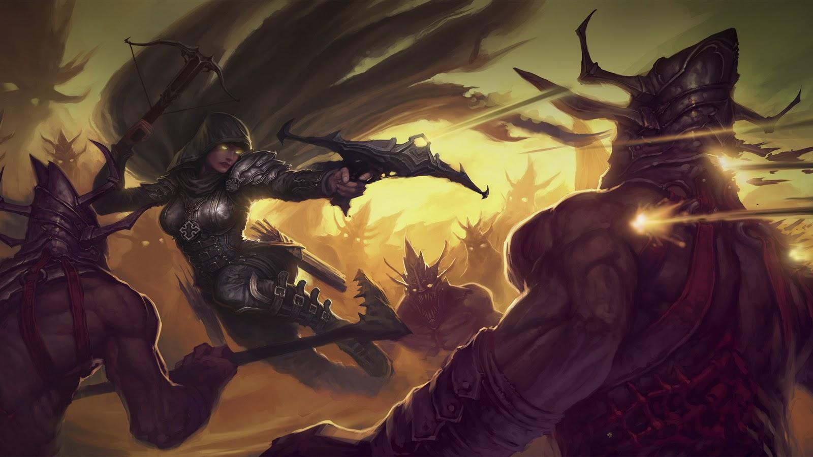 Wallpapers Photo Art Diablo 3 Wallpaper Diablo III Wallpaper Game 1600x900