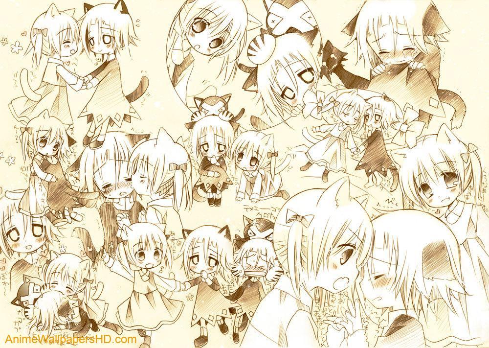 Neko wallpaper 1000x711