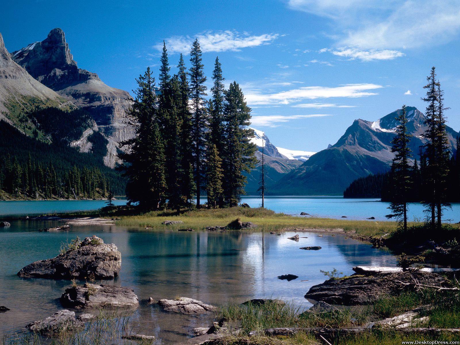 Desktop Wallpapers Natural Backgrounds Jasper National Park 1600x1200