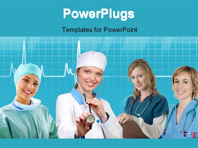 Template Background of nurse medical assistant   Nurses co 04 640x480