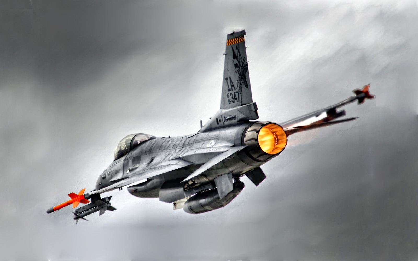 16 Fighting Falcon HD Wallpapers Military WallBase 1600x1000