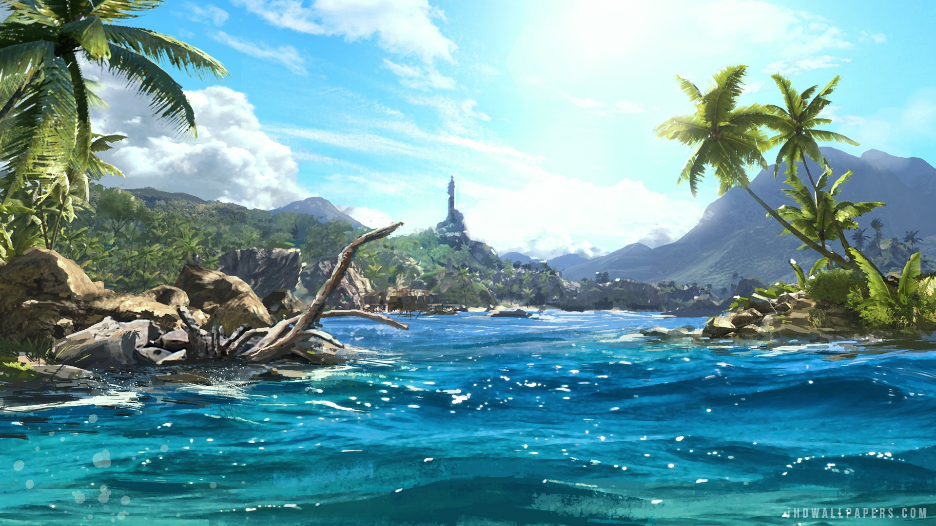 Far Cry 3 Scenery HD Wallpaper   iHD Wallpapers 1920x1080