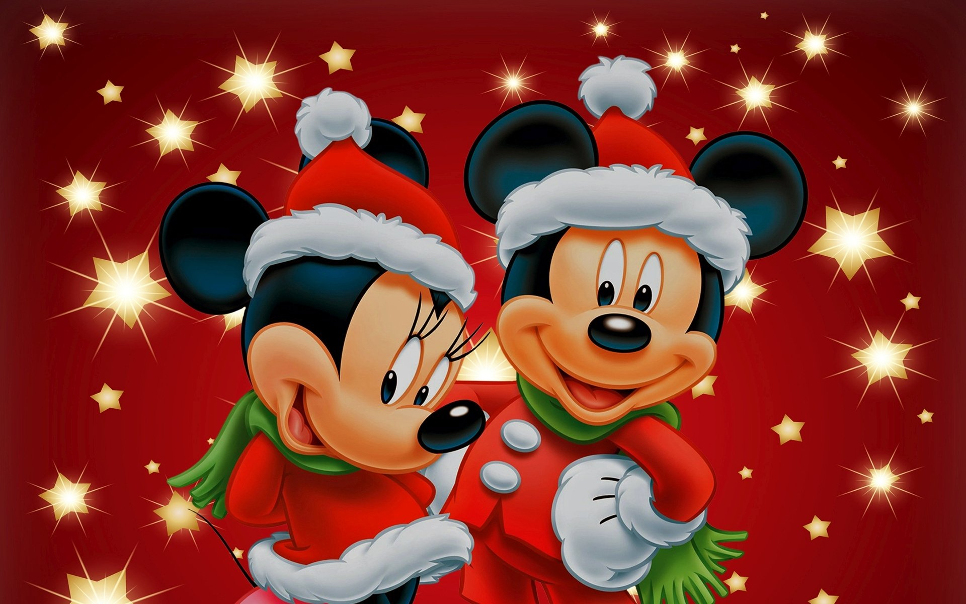 Mickey Mouse Wall Mural Mickey And Minnie Winter Wallpaper Wallpapersafari