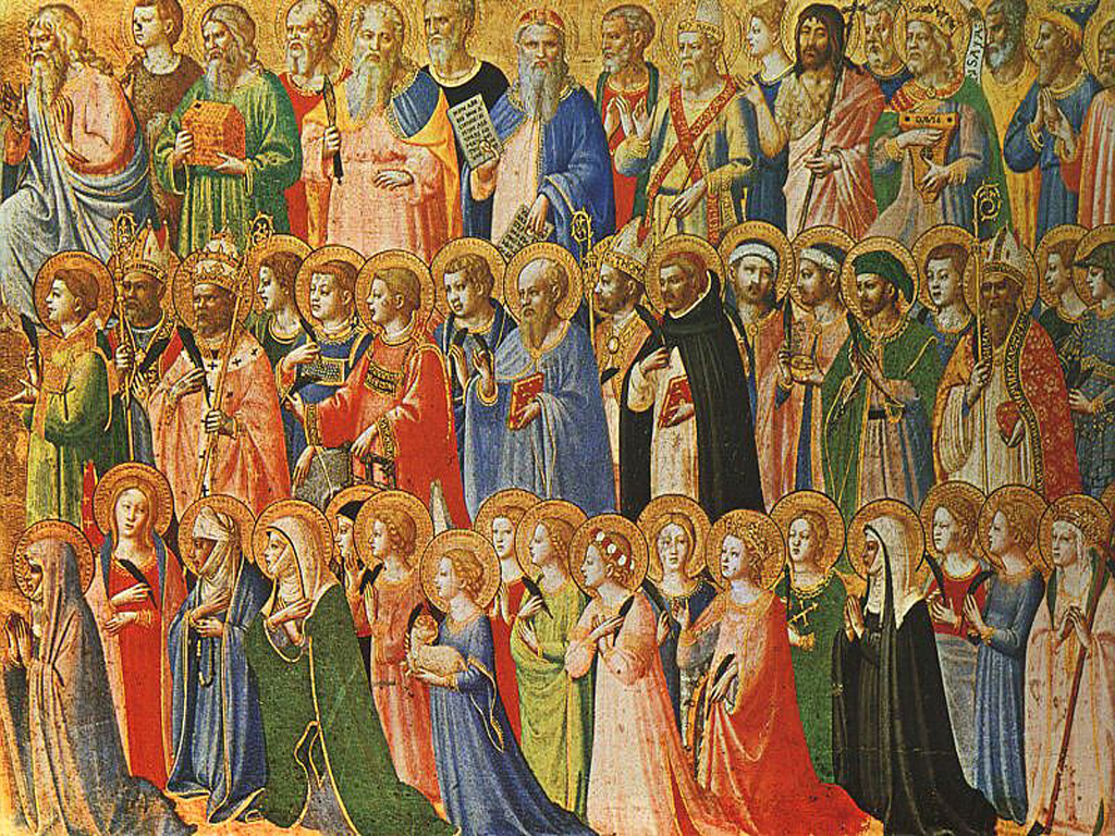 All Saints Day Wallpapers 1024x768