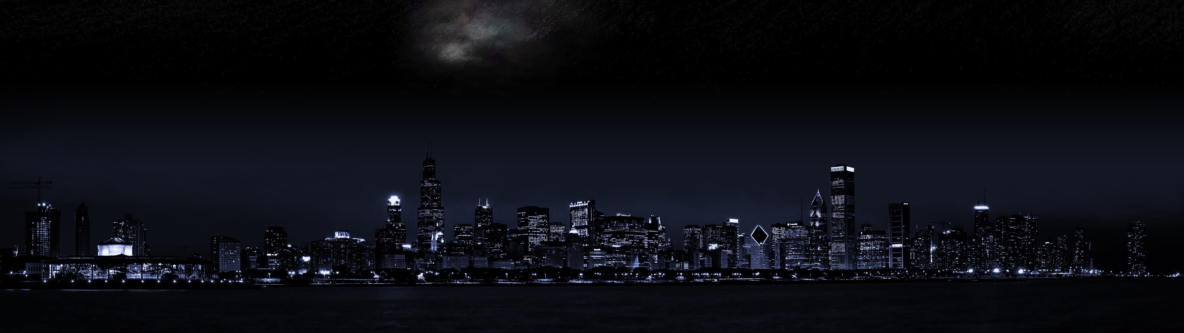 City at night wallpaper 3840x1080 HQ WALLPAPER   35043 3840x1080