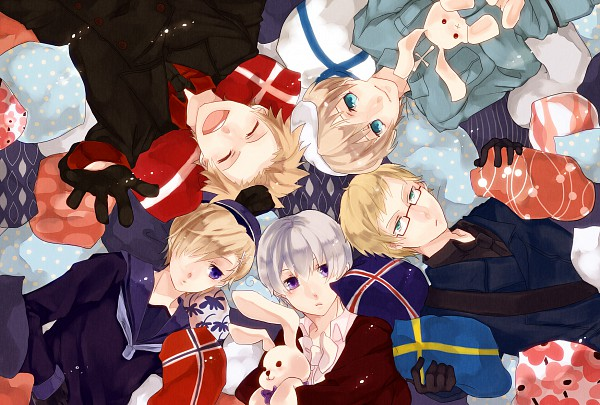 Hetalia Nordic Countries 600x405