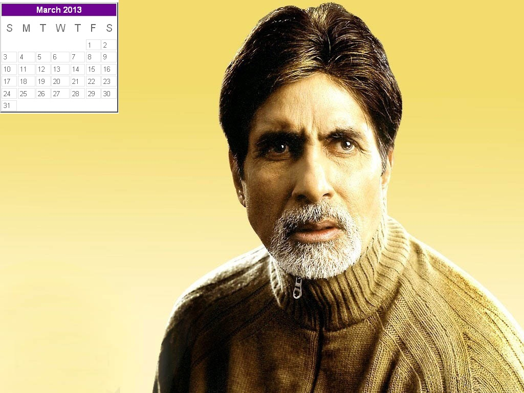Bollywood Actors Calendar 2013 Beautiful Collection for New Year 1024x768