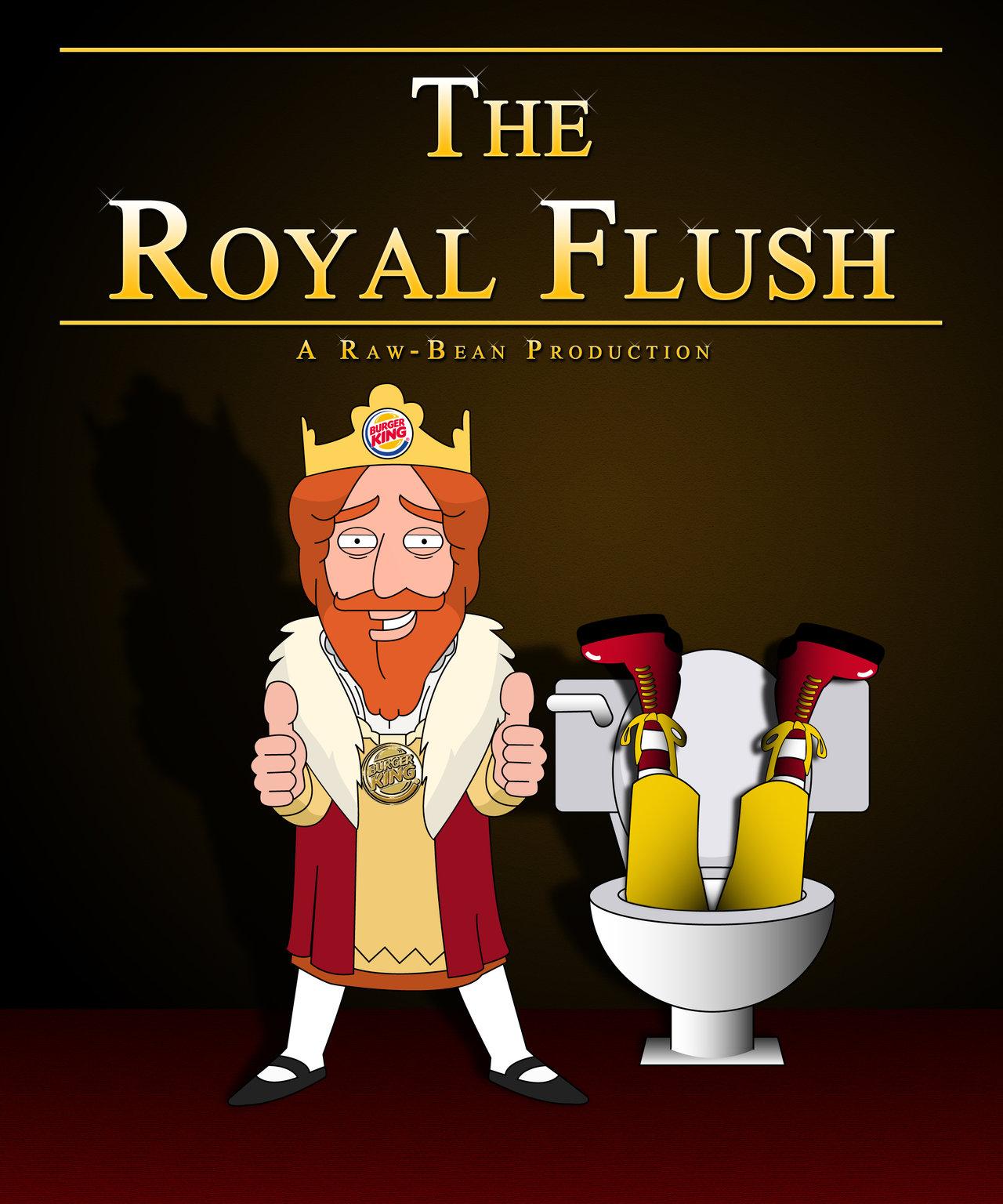 Description Royal Flush Poker Poster 1280x1536