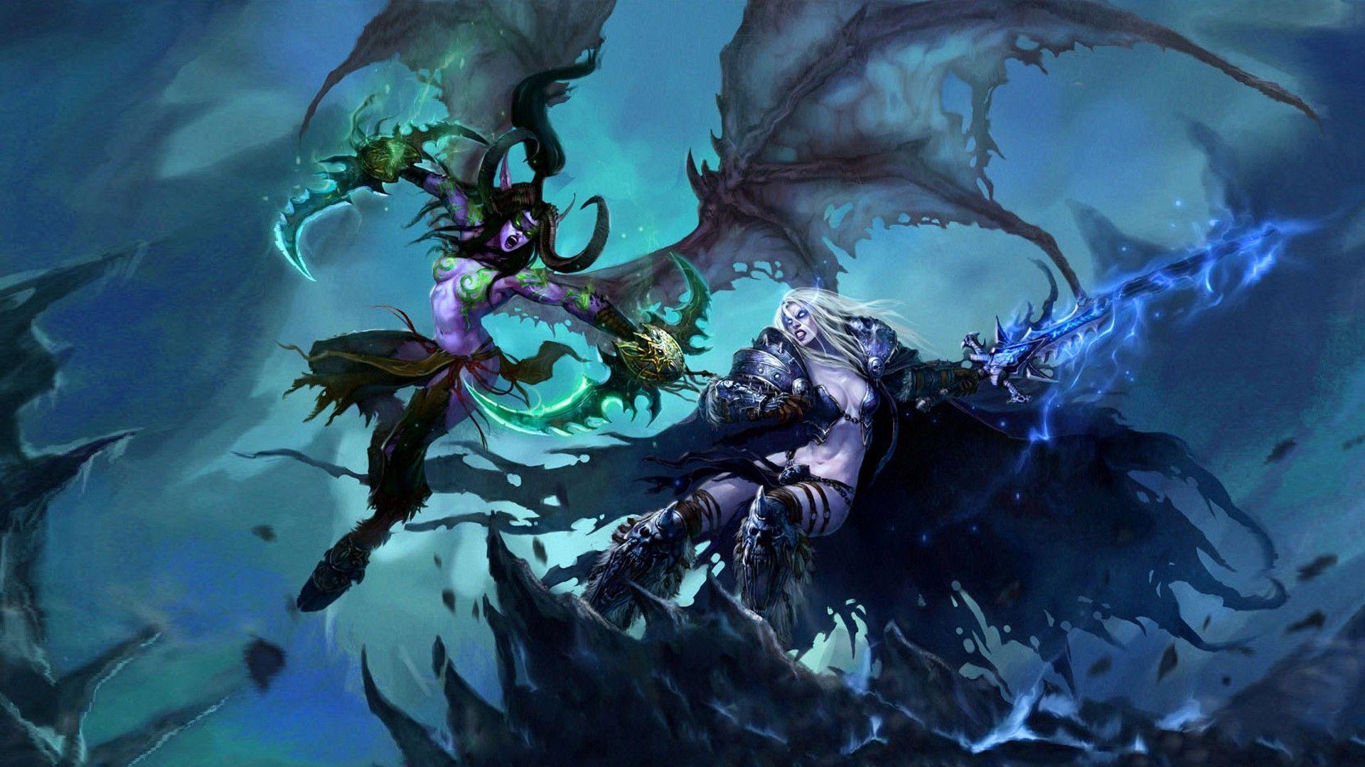 Free Download World Of Warcraft Wallpaper Sylvanas