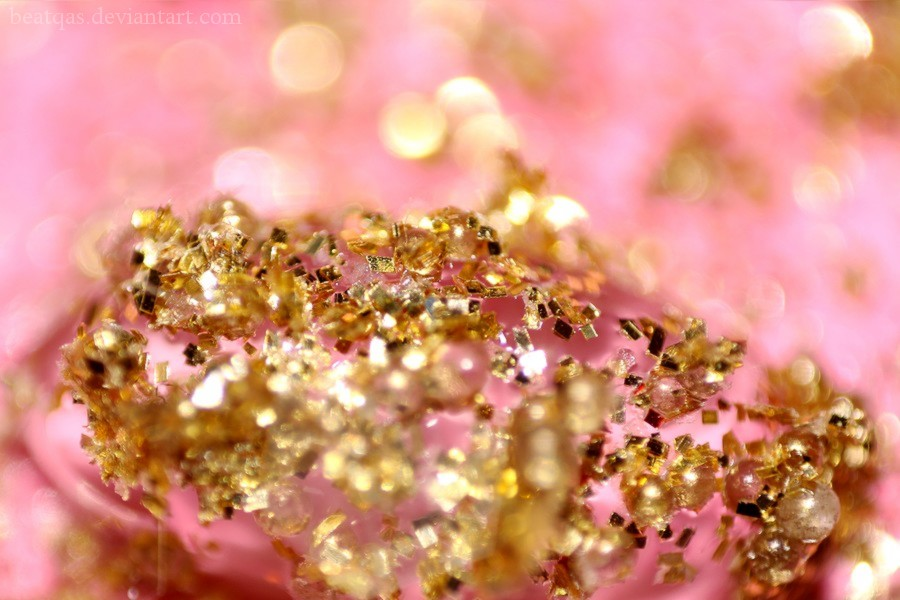 Pink And Gold Glitter Iphone Wallpaper: Gold And Pink Wallpaper