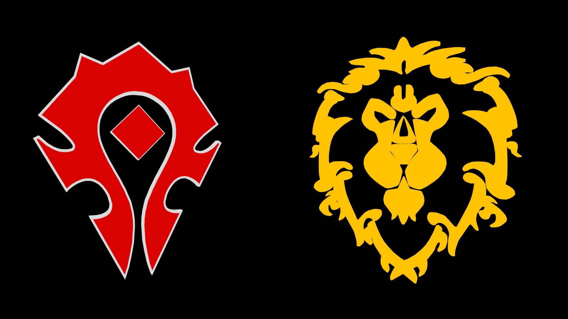 Картинки альянс орда