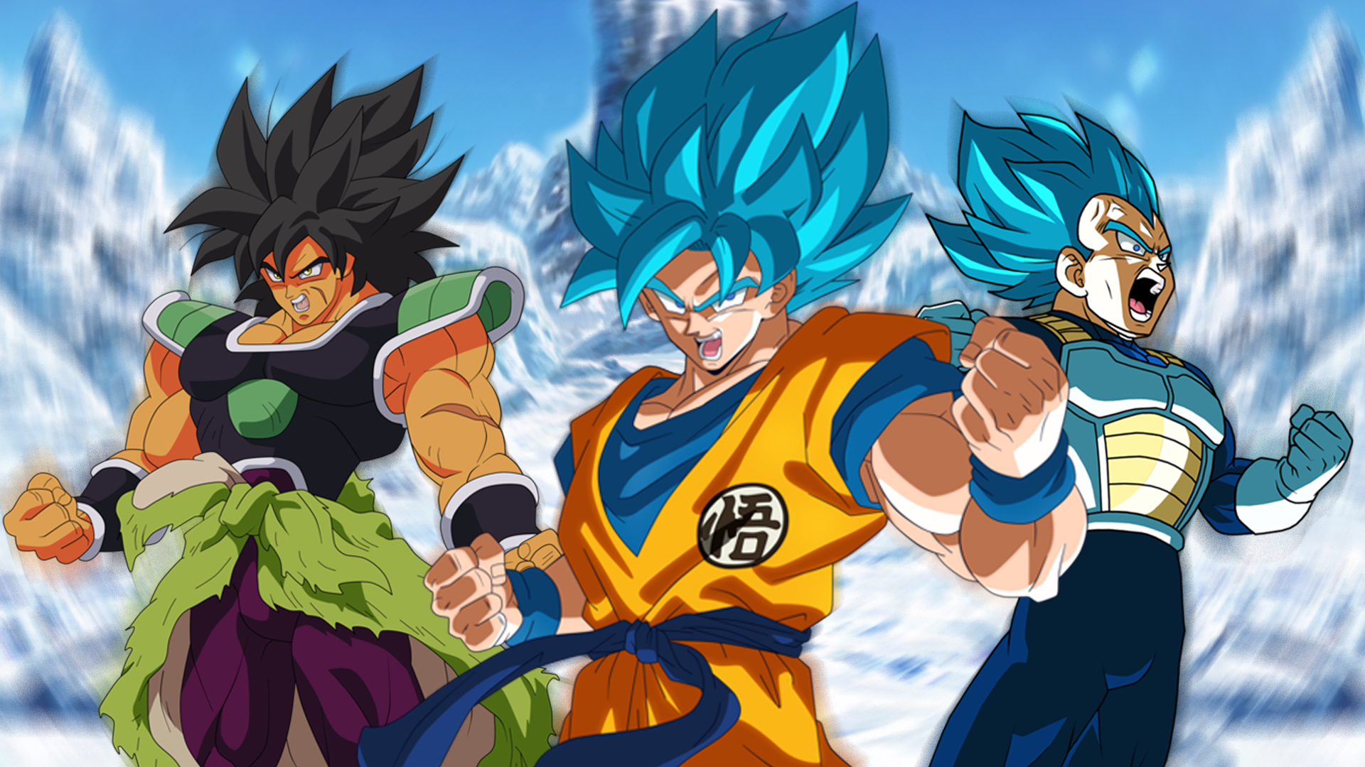 23 Dragon Ball Super Broly Wallpapers On Wallpapersafari
