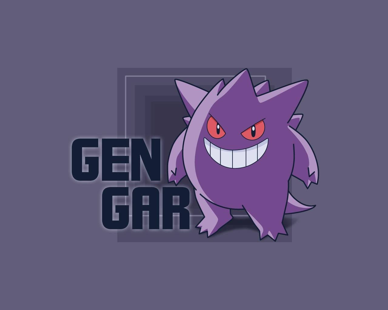 Pokemon Gengar Wallpaper 1280x1024 Pokemon Gengar 1280x1024