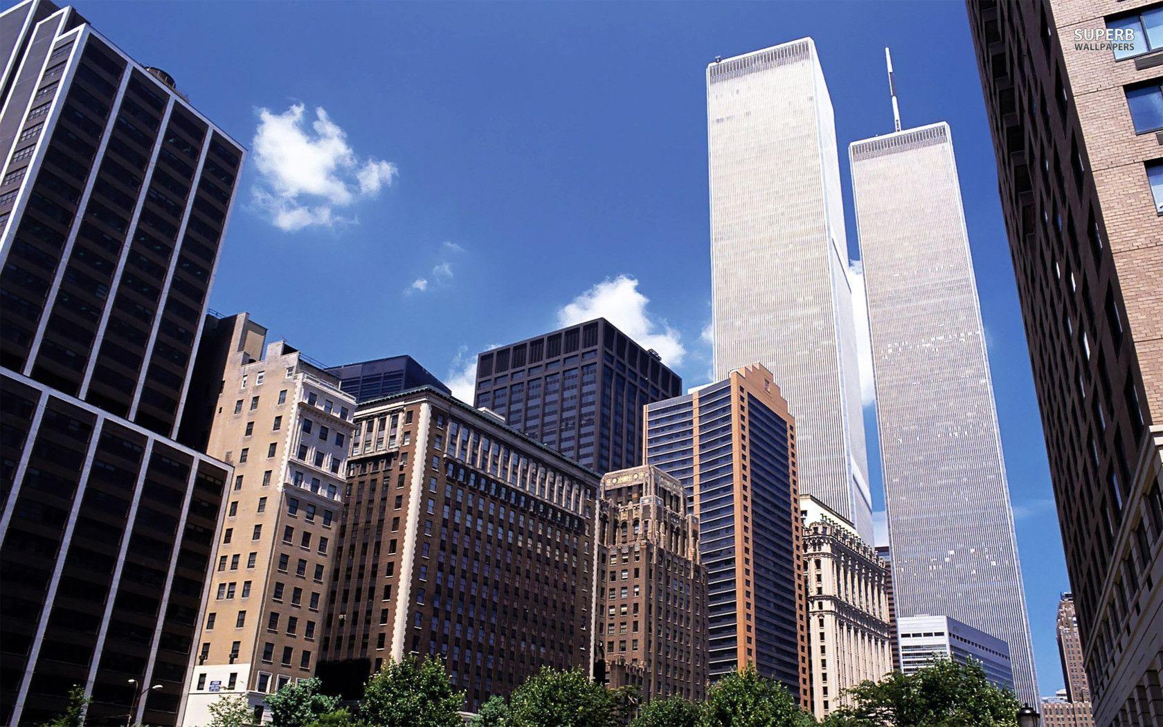 New York Twin Towers Wallpaper Wallpapersafari