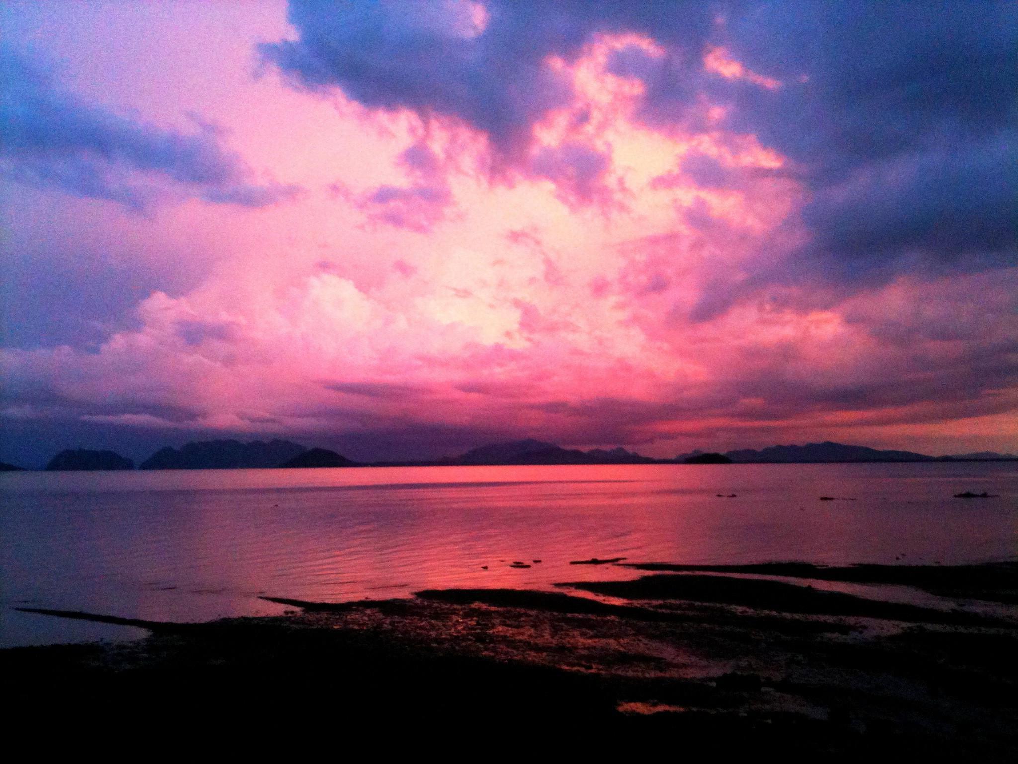 HD Pink Sunset HD Wallpaper Download   140429 2048x1536