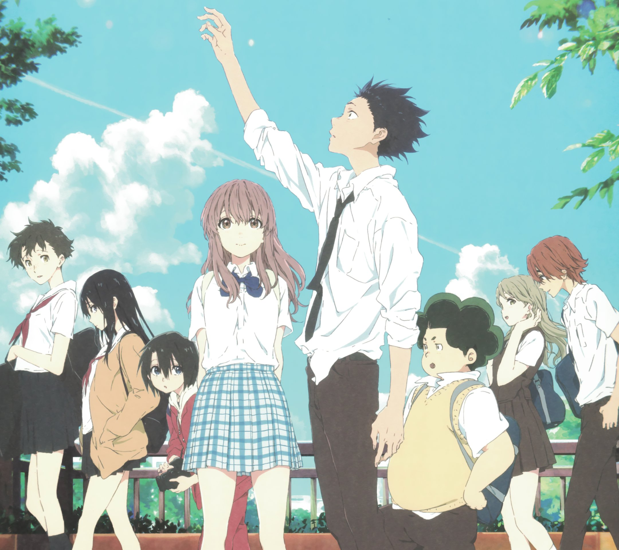 39 A Silent Voice Wallpapers On Wallpapersafari