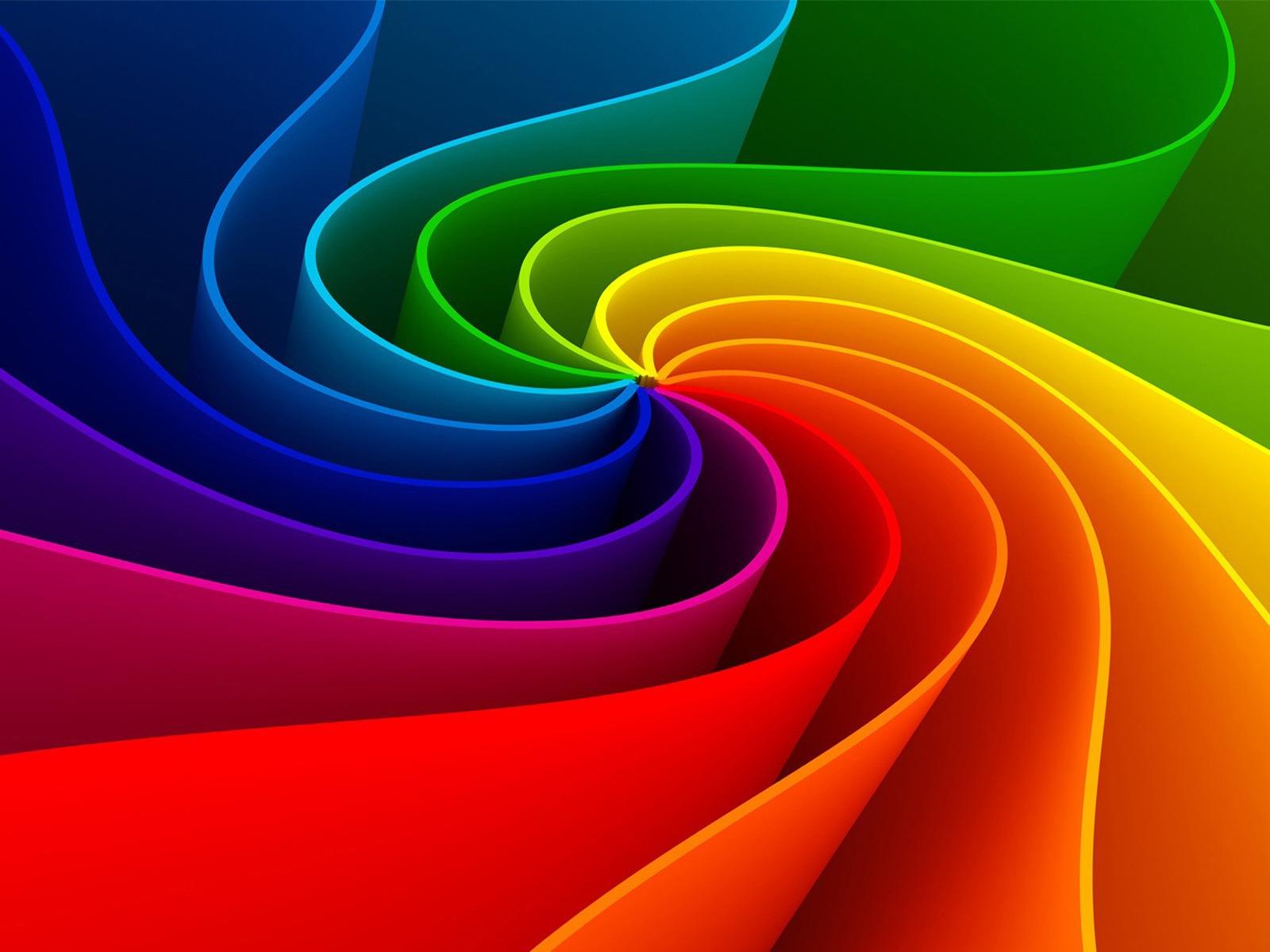 3D Rainbow Wallpaper Live HD Wallpaper HQ Pictures Images Photos 1600x1200