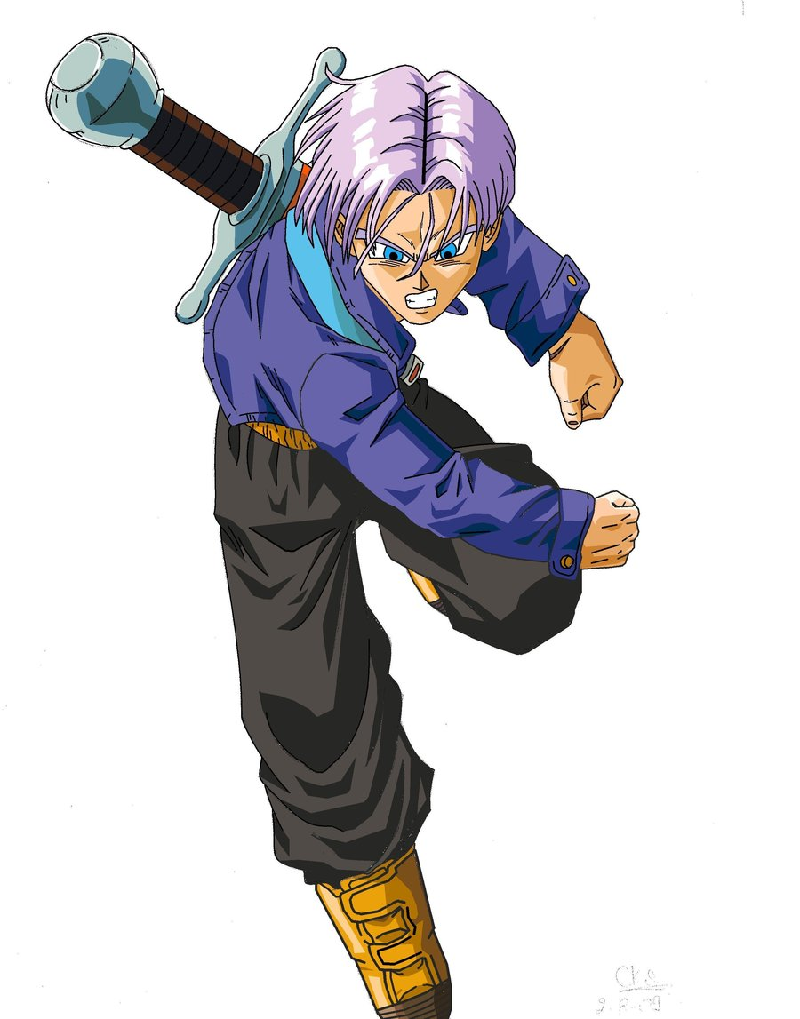 DRAGON BALL Z WALLPAPERS Adult trunks 900x1147