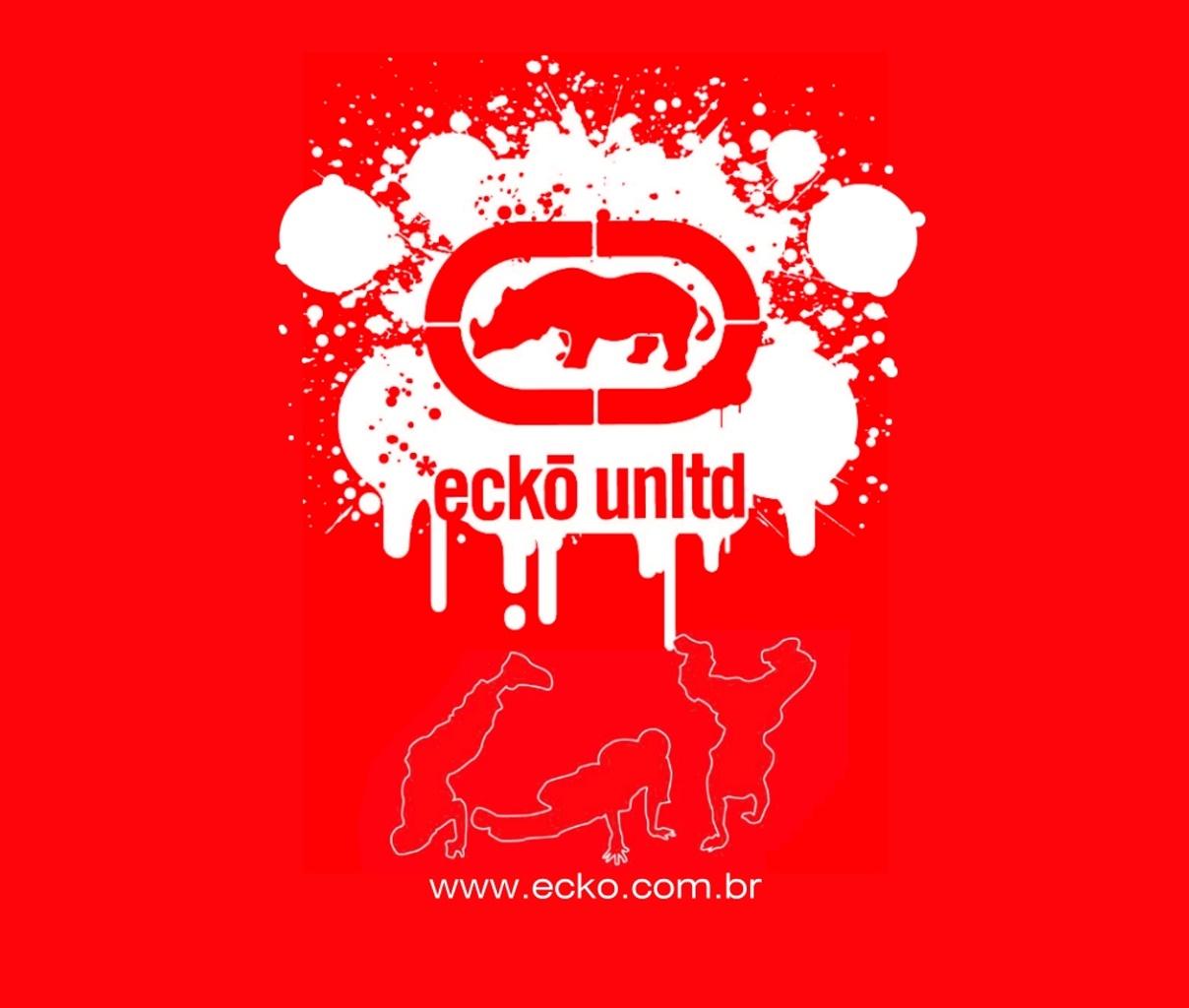 You are viewing the Fashion wallpaper named Ecko Break Dancing 1208x1024