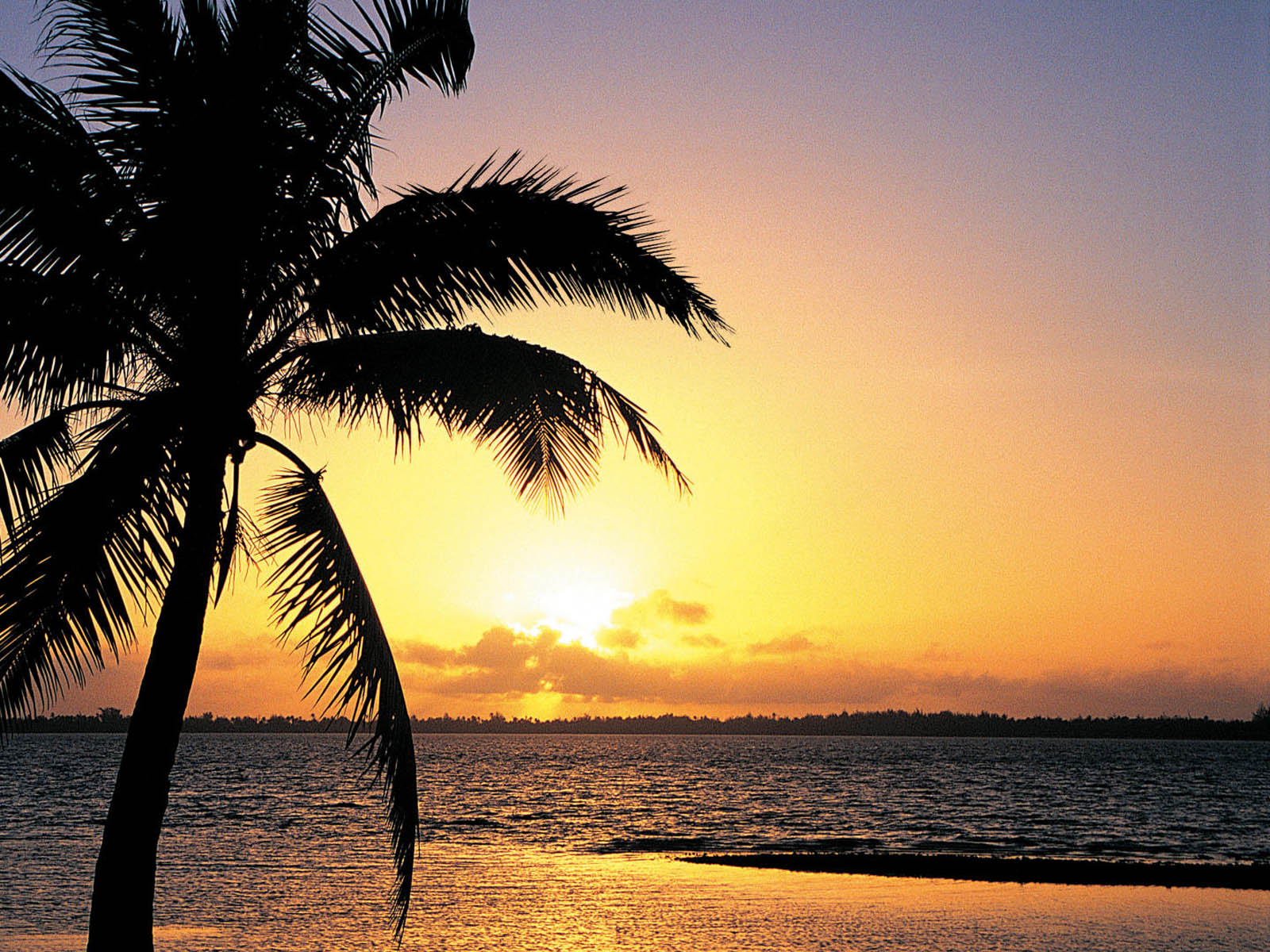 the Island Sunset Wallpapers Island Sunset Desktop Wallpapers Island 1600x1200