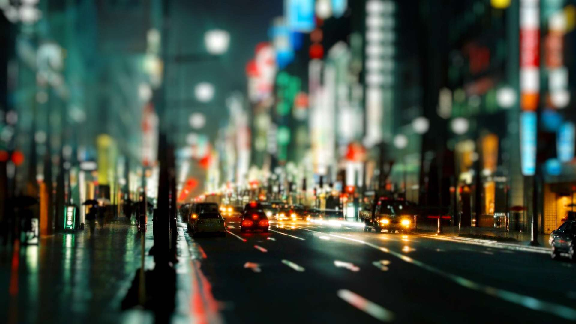 Tokyo in Tilt HD Wallpaper FullHDWpp   Full HD Wallpapers 1920x1080 1920x1080