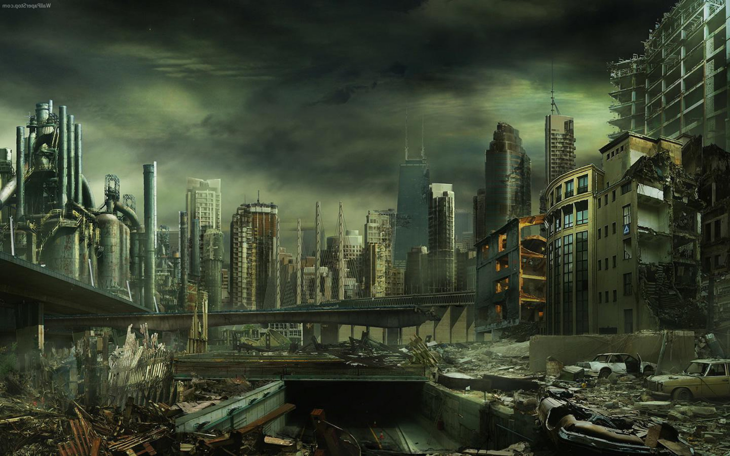 Destroyed City Wallpapers   Full HD wallpaper search 2560x1600