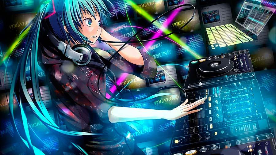 Fondo de Pantalla Pioneer DJ Manga Girl Wallpapers DJ 900x506