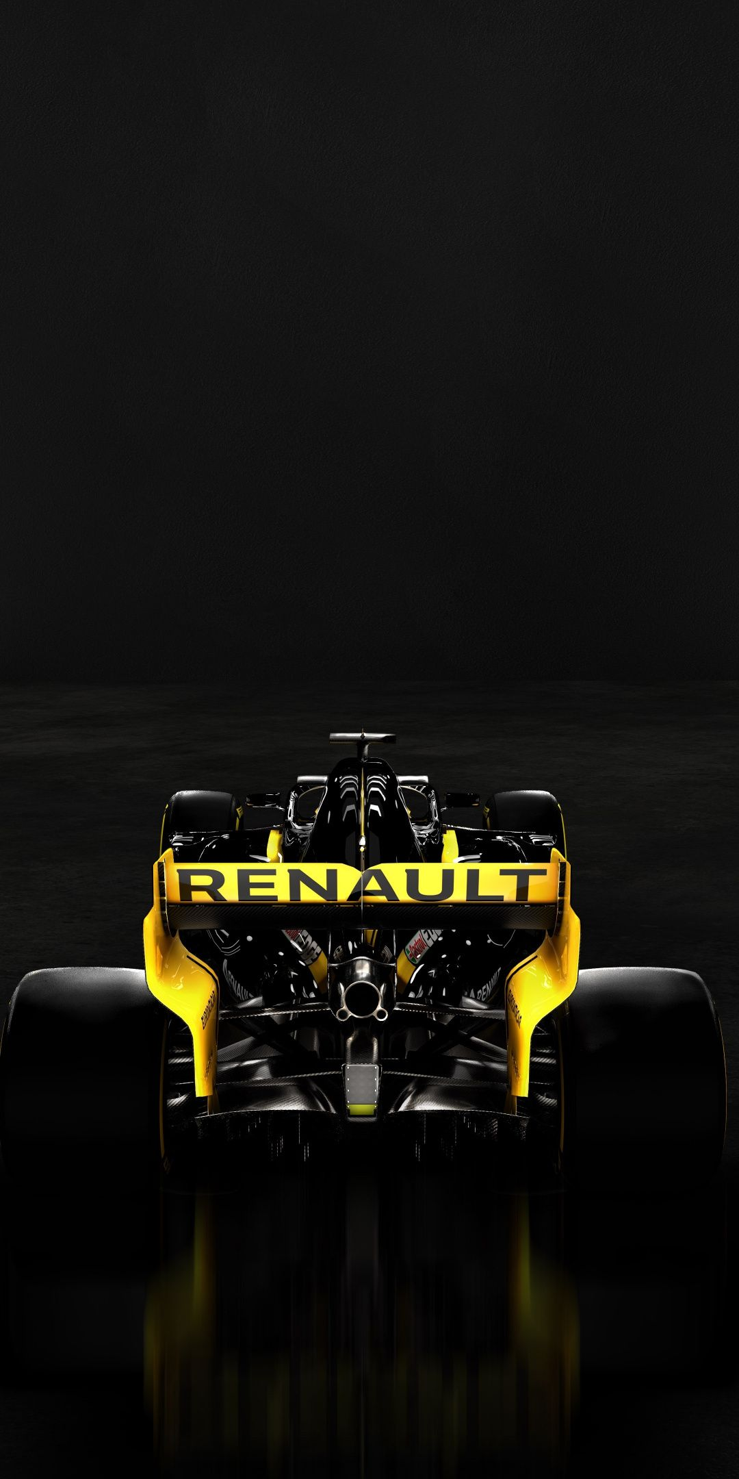 Rear view Renault RS19 Formula One 2019 1080x2160 wallpaper 1080x2160