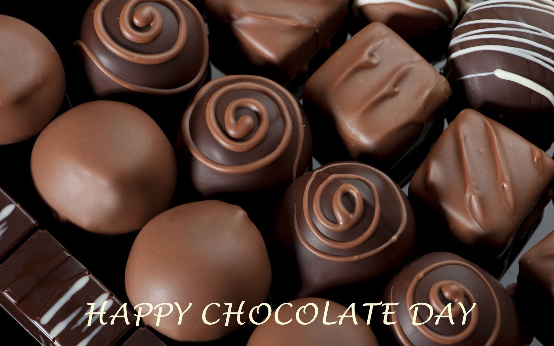 Happy Chocolate Day HD Wallpaper 05911 wallpaperspickcom 1920x1200