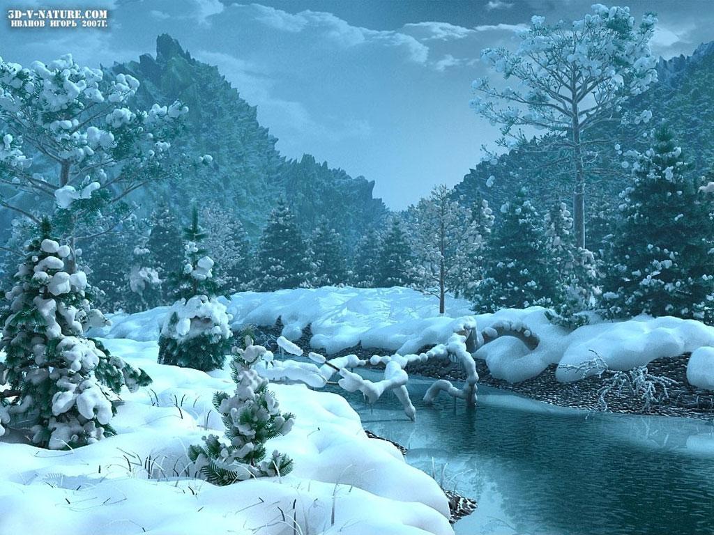 winter desktop wallpapers Wallpaper and Screensaver 1024x768