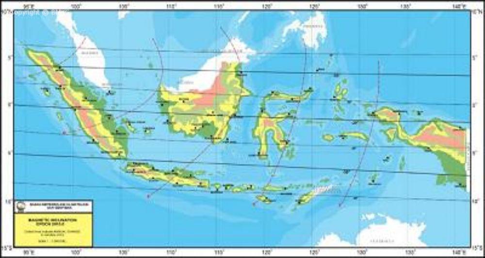 Gambar Peta Indonesia Dunia 1000x532