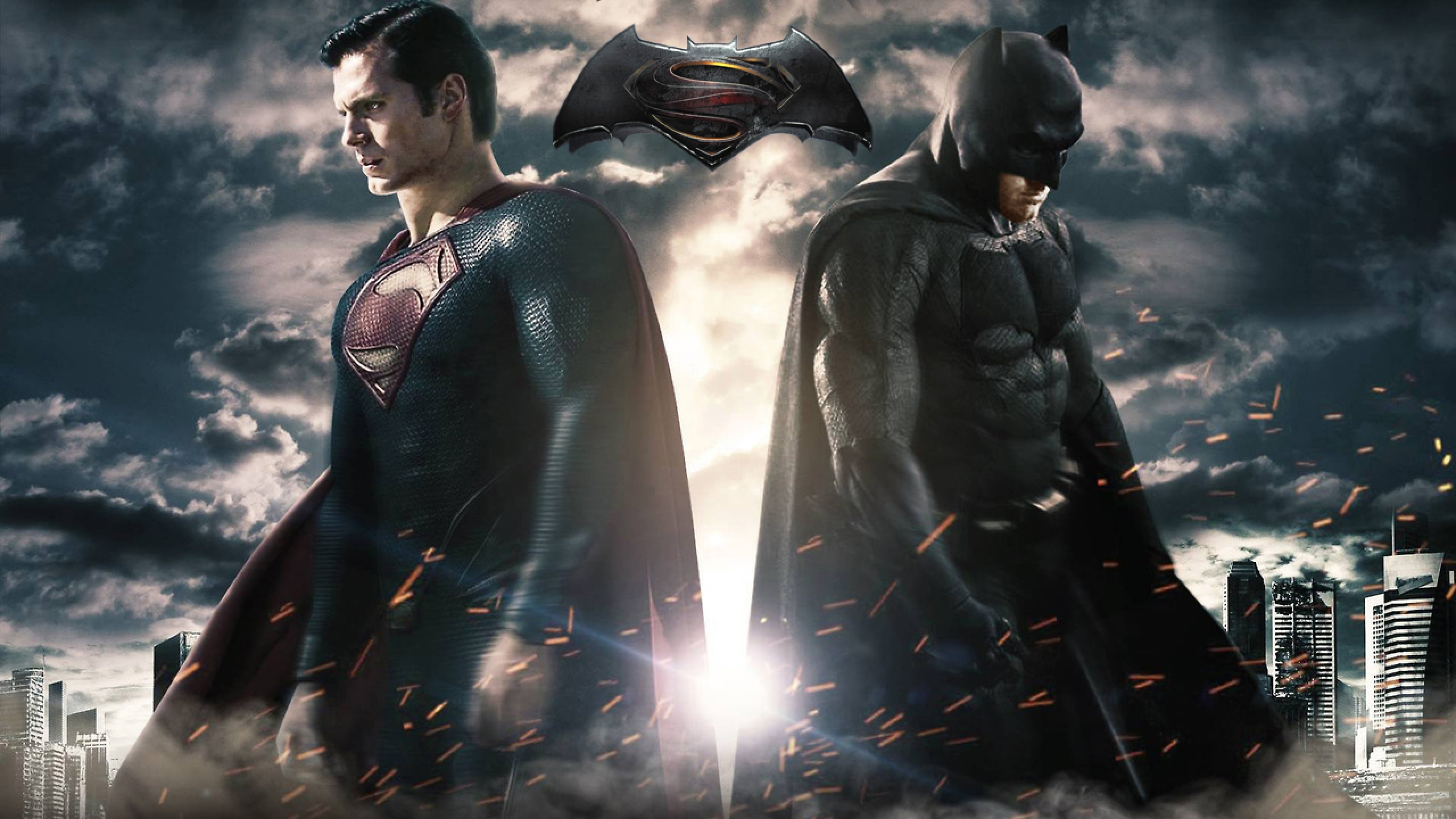 Batman v Superman Dawn of Justice Wallpapers Images Photos 2560x1440
