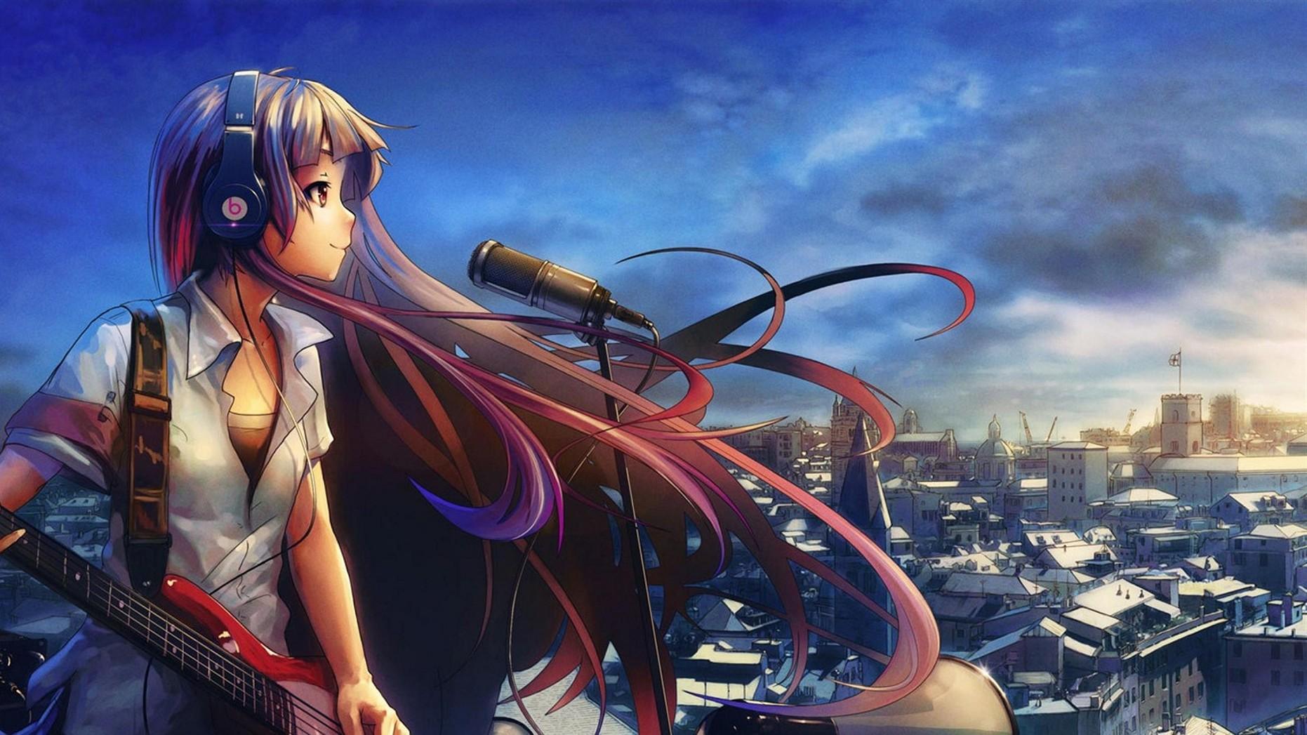 Cool anime wallpapers hd wallpapersafari - Anime wallpaper music ...