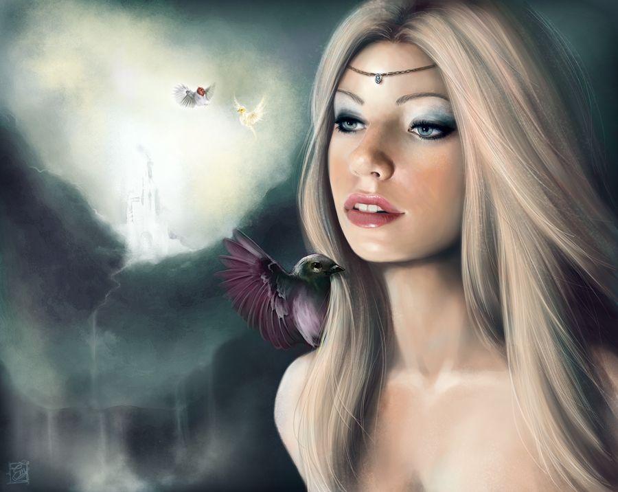 The Goddess fantasy goddess wallpaper 23582 900x716