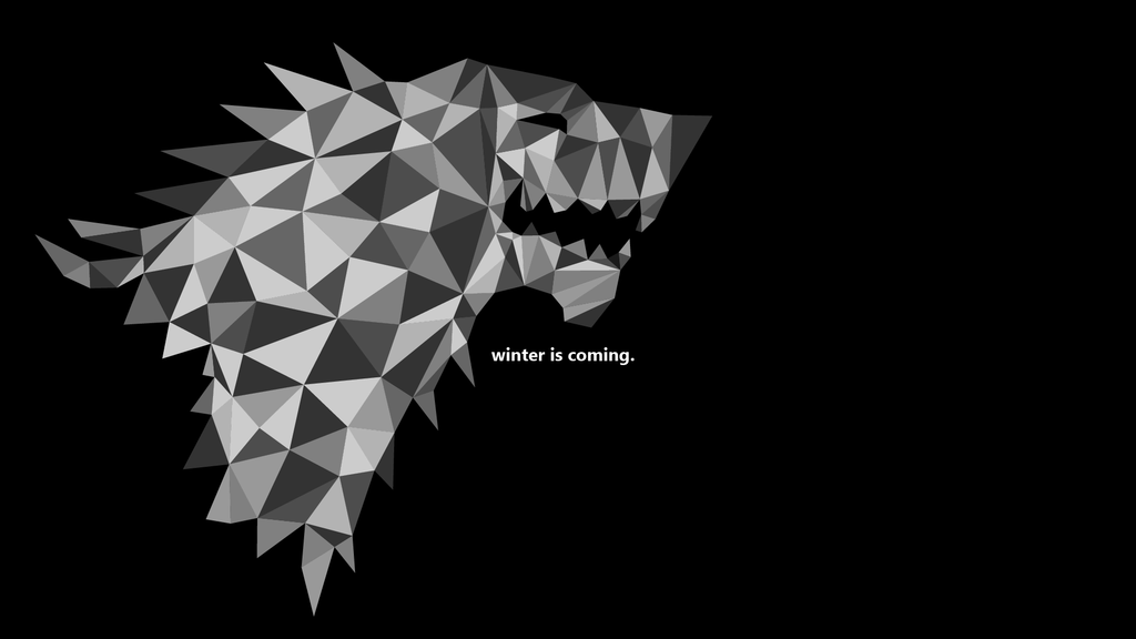 Wallpaper Game of Thrones House Stark by cetequ 1024x576